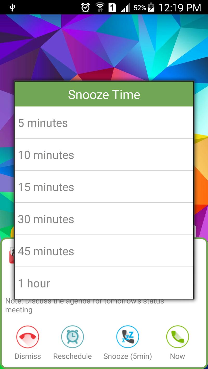 SMS-Call Scheduler Pro Screenshot 6