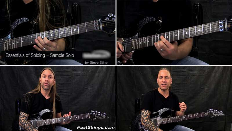 Steve Stine - Essentials of Soloing: Learn to Phrase in 14 Days