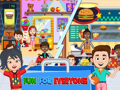 My Town : Shopping Mall MOD APK 1.00 [Characters Unlocked] 8