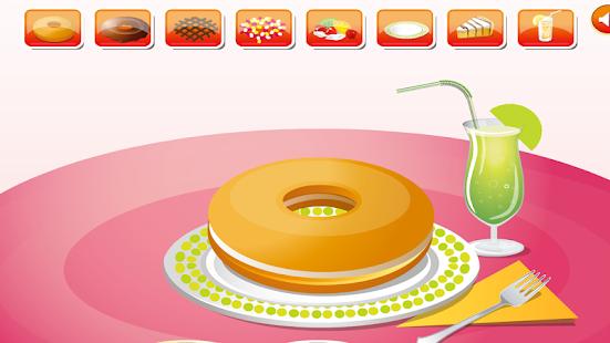hry dívky zdobení dortu - náhled
