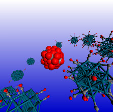 Photo: 10. The image depicts a Pd38 cubooctahedral nanclusters at various degrees of adsorbate saturation.  Dr Constantinos Zeinalipour-Yazdi, University College London Department of Chemistry.  The study of dynamic processes in catalysis and materials chemistry using accurate quantum mechanical calculations is a computationally demanding process. The high performance computing resources offered by ARCHER through the Materials Chemistry Consortium are pivotal for the performance of such calculations. In this study we explore through hybrid-DFT molecular dynamics simulations the spatial and time evolution of adsorbates on the surface of nanoclusters. This research has resulted in fascinating simulations with respect to the dynamic motion of adsorbates on the surface of nanoparticles at high coverages.