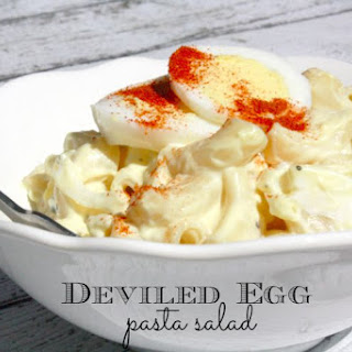 Deviled Egg Pasta Salad.
