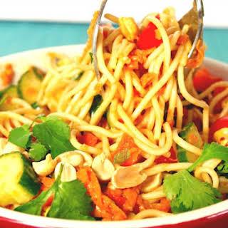 Spicy Peanut Pasta Salad.