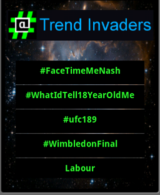 Trend Invaders pro
