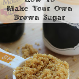 How to Make Your Own Brown Sugar Recipe