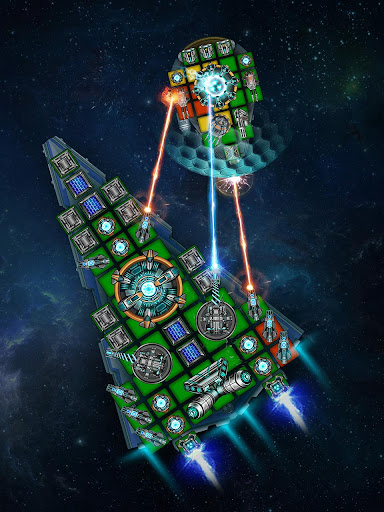 Space Arena: Build a spaceship & fight apkdebit screenshots 11