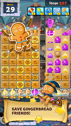 MonsterBusters: Match 3 Puzzle  screenshots 2