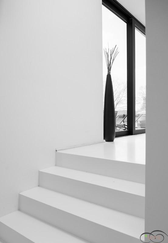 Een warm gevoel in zwart en wit
