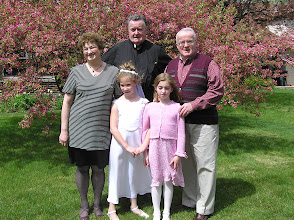 Photo: Sister in law Carole, brother Mike, great nieces Sarah and Bridget