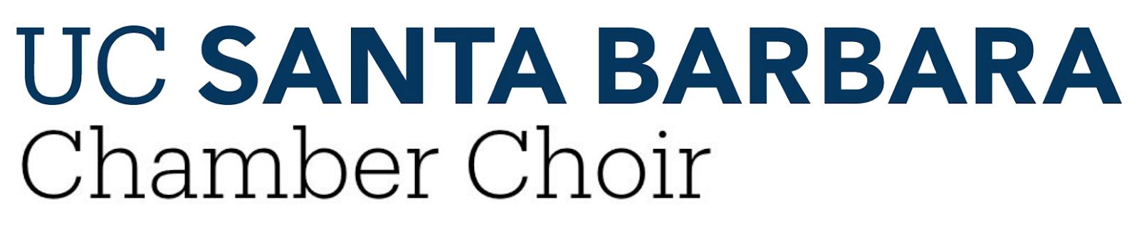 UC Santa Barbara Chamber Choir logo