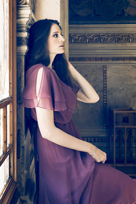 purple dress di fraiac
