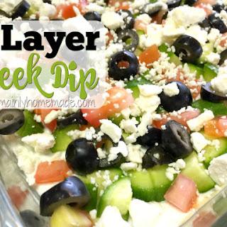 7 Layer Greek Dip