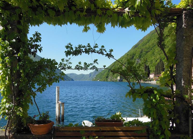 Sul lago di Giò Volpi