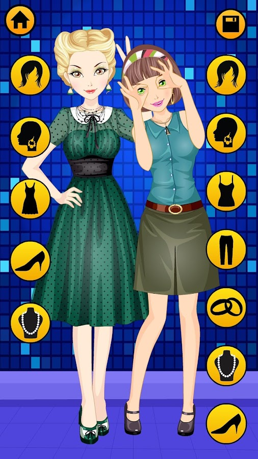Best Friends Dressup for Girls - Free BFF Fashion- screenshot