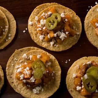 Spicy Squash Tacos