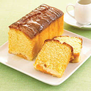 Peach Yogurt Cake.