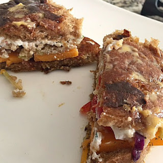Crazy Couscous Grilled Cheese!