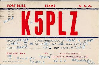 Photo: KN5PLZ in 1959. Bill is now W5YO