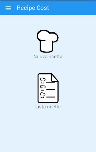 Recipe Cost Costo ricetta