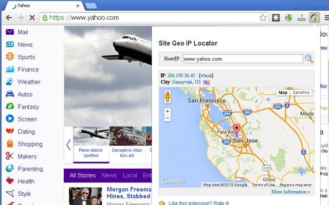 Site Geo IP Locator Chrome Web Store