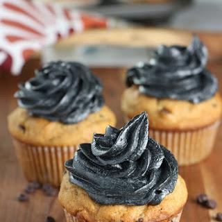 Mom's Pumpkin Muffins & Spooky Pumpkin Chocolate Chip Cupcakes