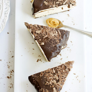 Peanut Butter Tortewith Chocolate Ganache