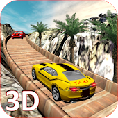 Mountain Offroad Taxi: Hill Driver 3D 🚖