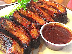 Photo: Dry Rub Smoked Baby Back Ribs