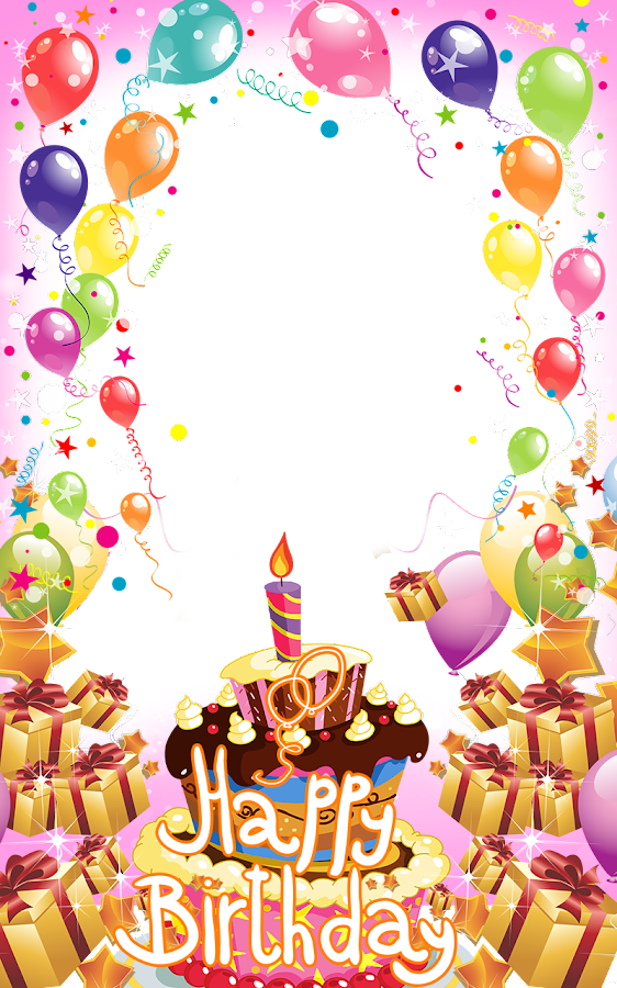 Happy Birthday Frame Png Happy Birthday ...