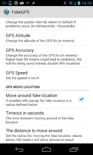 Screenshot for Fake GPS Go Location Spoofer in Hong Kong Play Store