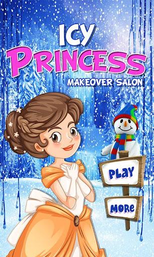 Icy princess makeover salon