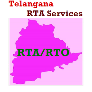 Search Telangana Online RTA Service - náhled
