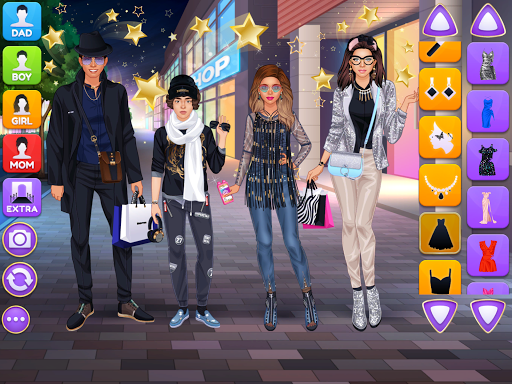 Superstar Family - Celebrity Fashion screenshots 6