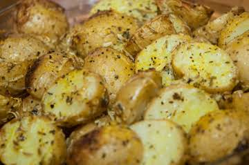 Tater Essentials: Lemony Parmesan Potatoes