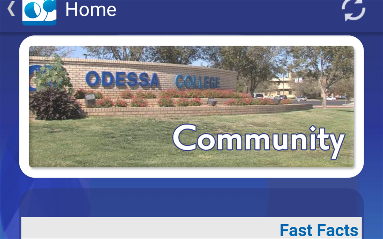 Odessa College- screenshot