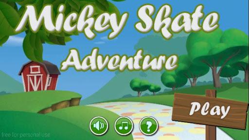 Mickey Skate Adventure