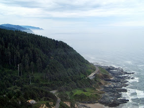 Photo: Oregon coast view from Cape Perpetua