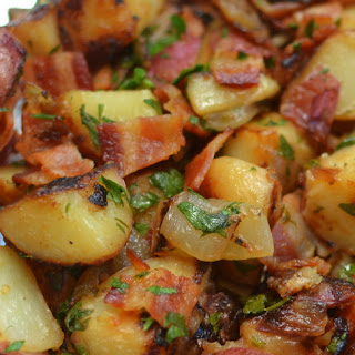 Skillet German Potato Salad