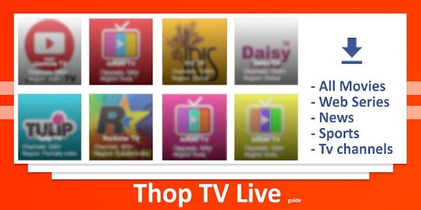 Thop TV : Free HD Live TV Guide 4