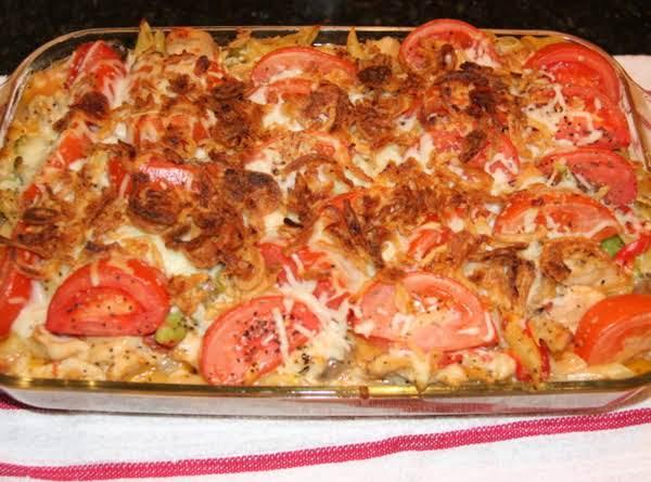 Caroline's Chicken And Tomato Penne Pasta