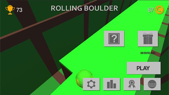 Rolling Boulder - Arcade Game - náhled