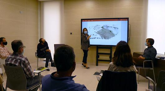 Equipo redactor y Ayuntamiento trazan el primer boceto del Parque de La Hoya