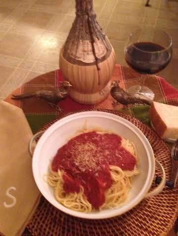 My Best Spaghetti Sauce