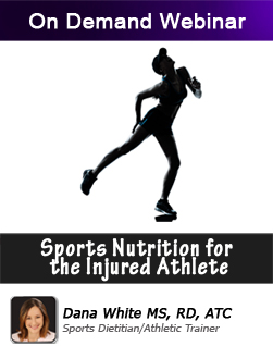 Sports Nutrition for the Injured Athlete