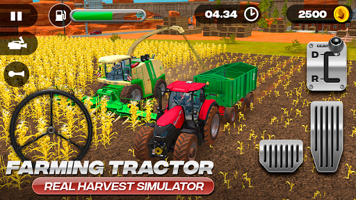 Farming Tractor Real Harvest Simulator 2.0 screenshots 2