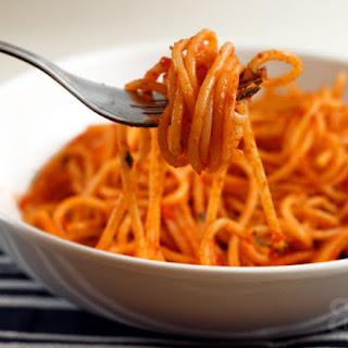 Scarpetta's Tomato Basil Spaghetti