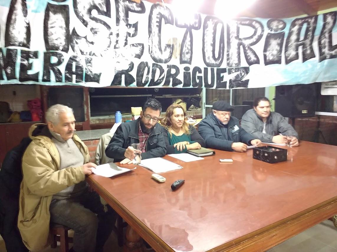 La Multisectorial habló de la manifestación: Culparon a Kubar y la definieron como