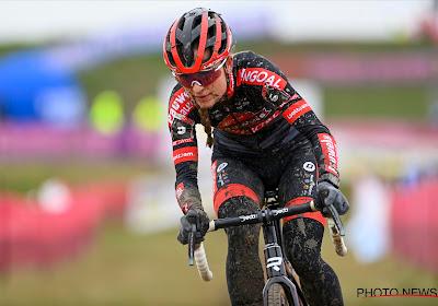 Betsema blijft na enkele versnellingen voorop en wint de Waaslandcross