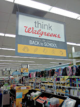Photo: Walking through the store I saw this huge sign, I am not ready for the kids to go back to school.