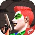 Clown Attack : FPS City Gun Shooter icon